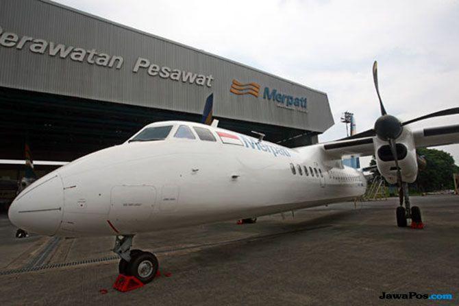 Kementerian BUMN Dalam Proses Konsultasi Lepas Saham Merpati Airlines