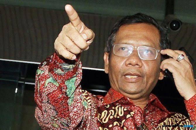 Kenal Sebagai 'Orang Lurus', Mahfud MD Sebut Hoaks Tito Terima Suap