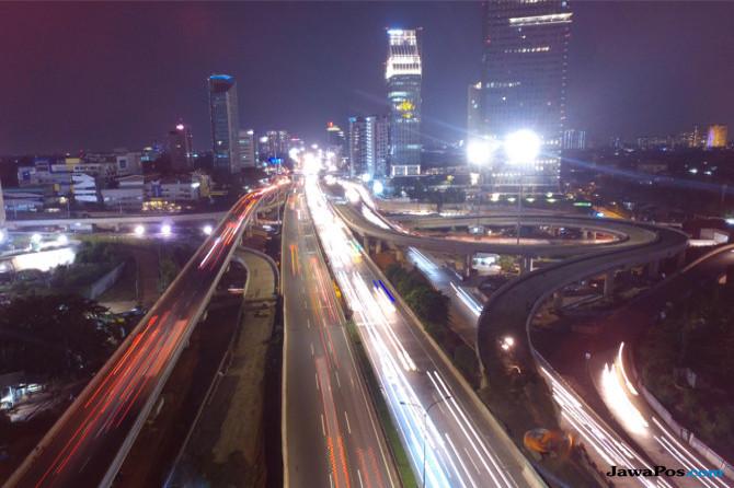 Kendaraan Masuk dan Keluar Tak Lagi Menumpuk di Tol Dalam Kota Jakarta