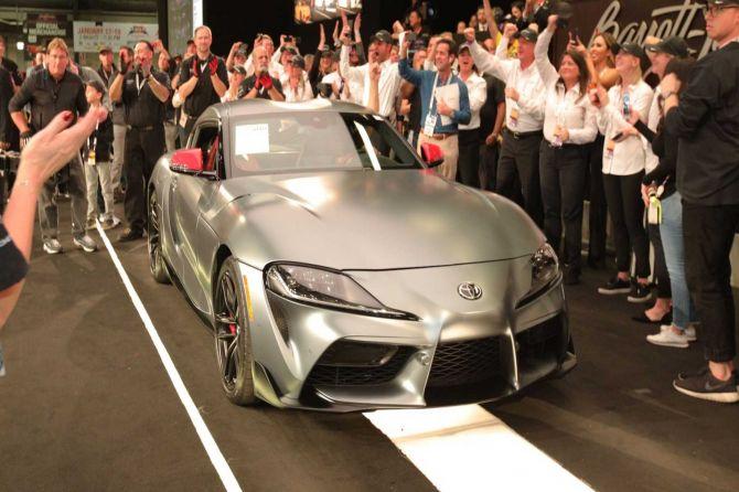 Keperluan Amal, Toyota Supra Pertama  Terjual Rp 29,8 M