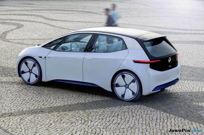 Keren! Hatcback Listrik Audi Tampil Memikat dengan Desain Futuristik