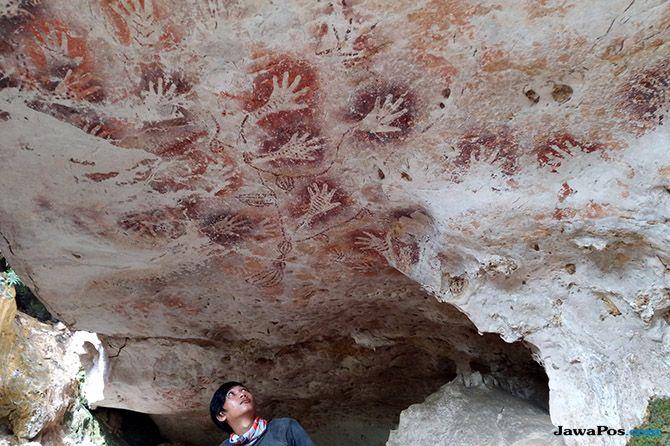 Keren! Lukisan Binatang Tertua di Dunia Ada di Kaltim