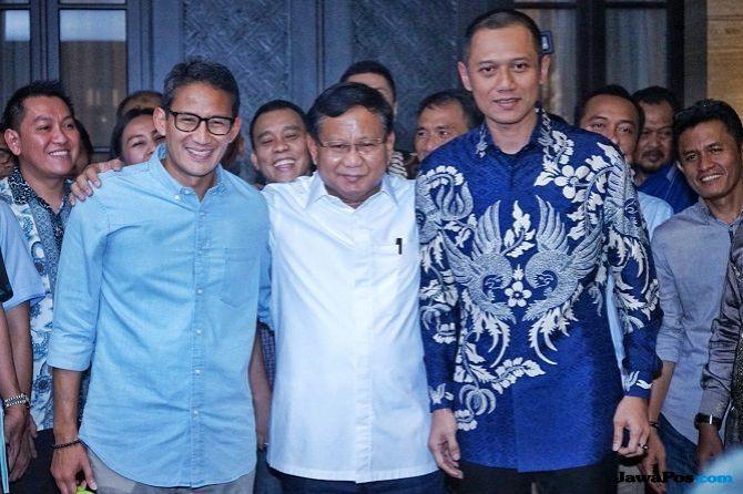 Ketika Prabowo Puji SBY 'the Godfather'