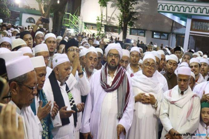 KH Idris Hamid Ajak Belasan Ribu Jemaah Dukung Gus Ipul