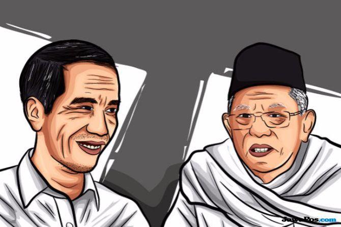 KH Ma'ruf Amin Dinilai Mustahil Dongkrak Suara Jokowi di Ranah Minang