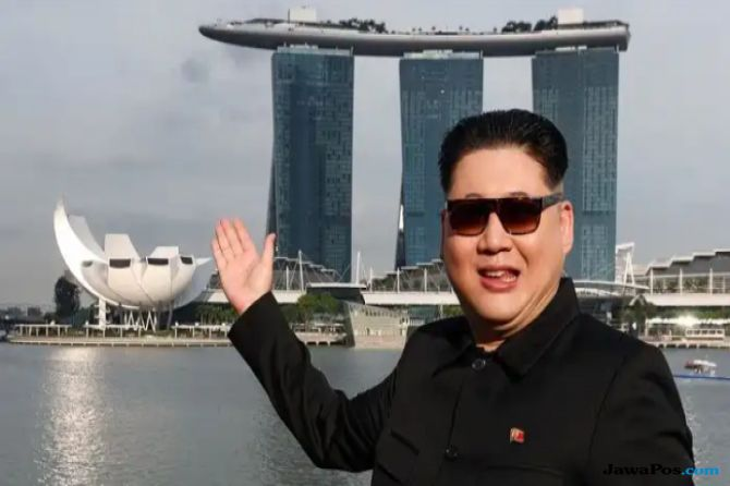 Kim Jong Un Jadi-jadian Diminta Jauhi Pulau Sentosa