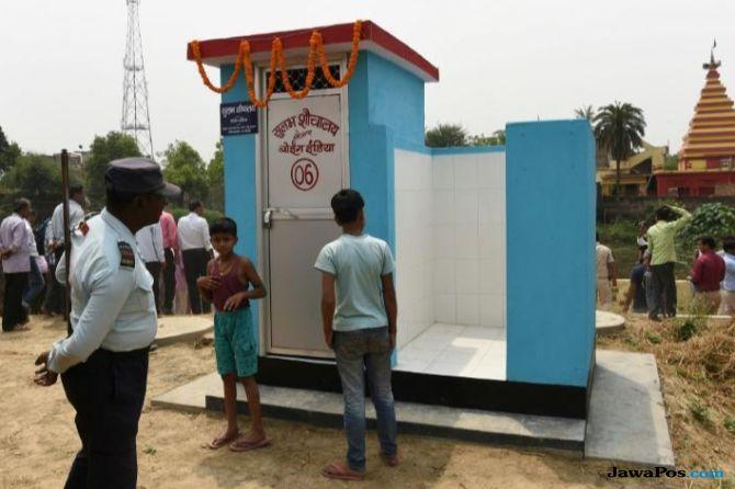 narendra modi, toilet, buang air besar,