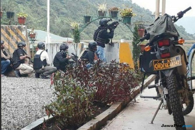 kelompok kriminal bersenjata, kelompok bersenjata papua, [penyekapan warga papua, KKB papua,