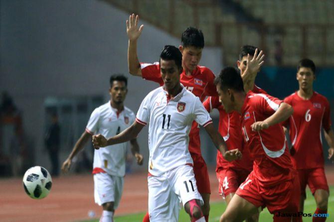 Asian Games 2018, Sepak Bola, Korea Utara, Iran, Arab Saudi, Myanmar