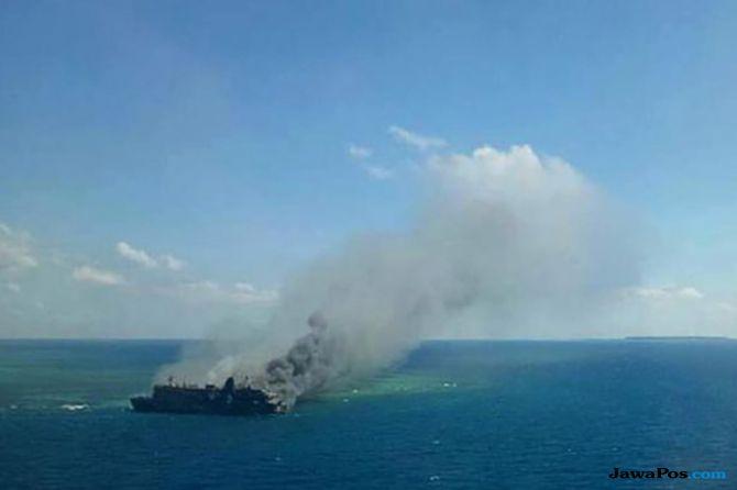 KM Satya Kencana IX Terbakar Di Laut Jawa, 250 Penumpang Dievakuasi