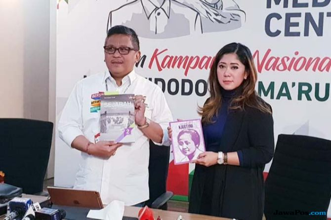 Hasto Kristiyanto dan Meutya Hafid
