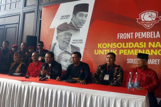 Komitmen Dukung Jokowi-Ma'ruf Amin, FPR Gelar Konsolidasi Nasional