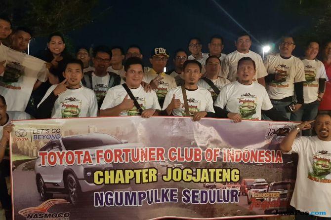 Komunitas Fortuner Galang Donasi Demi Bantu Korban Gempa Lombok