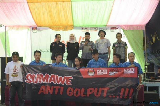 Komunitas Nelayan di Malang Deklarasi Anti Golput