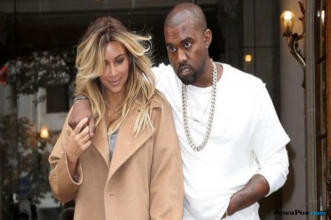 Pasangan Kim Kardashian dan Kanye West
