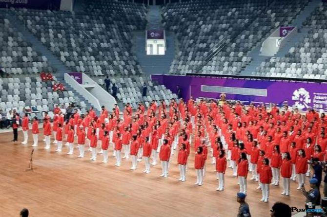 Asian Games 2018, kontingen, Indonesia, Merah Putih