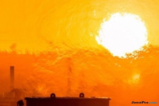 korut kena gelombang panas