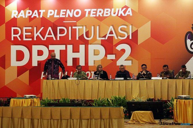 KPU 'Ketok' DPT Final, Ini Rincian Lengkapnya