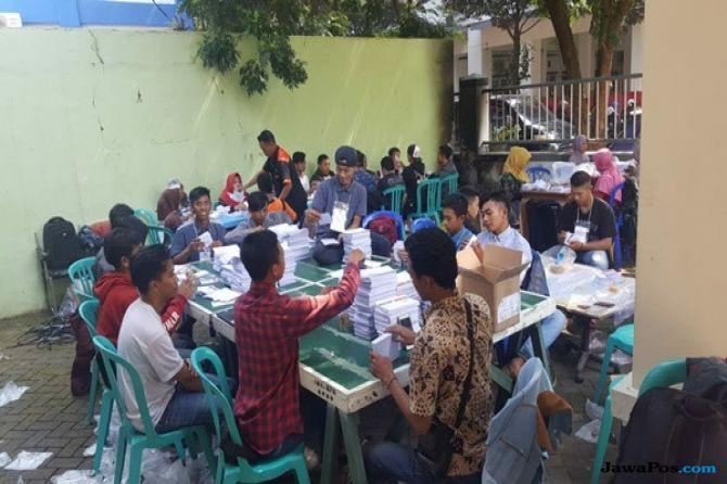 KPU Malang Temukan 6.793 Surat Suara Rusak