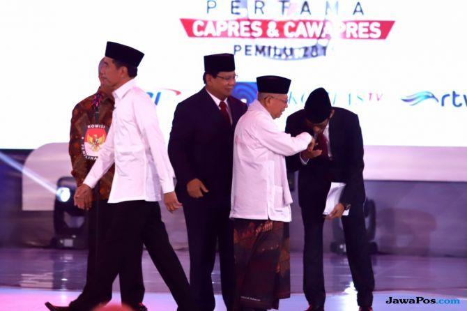 Kubu 02 'Paksa' Prabowo Hafalkan Singkatan, Petahana Lihat 'Sikon'