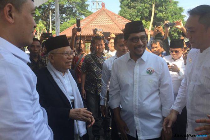 Kunjungi Bangkalan, Ma'ruf Amin: Saya Keturunan Raja-raja Madura