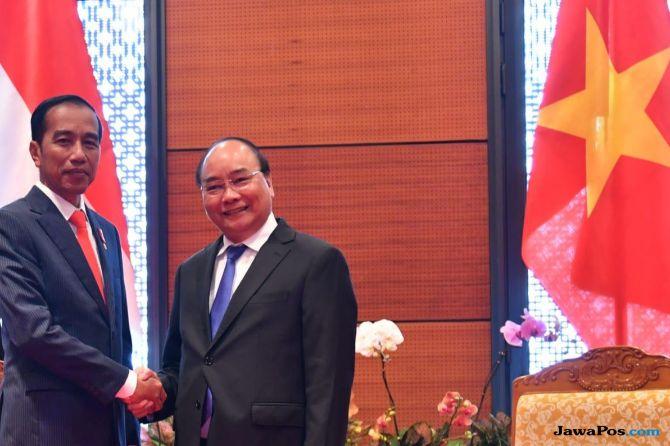 Kunjungi Vietnam, Jokowi Ingin Bersama Hadapi Situasi Ekonomi Global