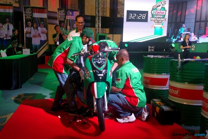 Castrol Asia Pasific Super Mechanic Contest