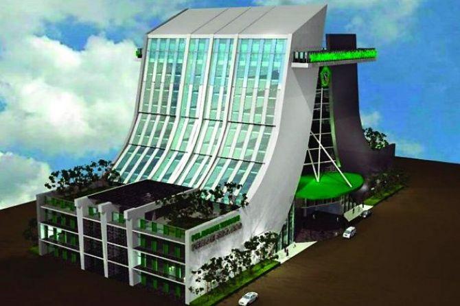 Kurangi Pemborosan Energi, Gedung Pelu Terapkan Konsep Green Building