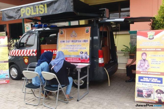 Layanan Mobile SKCK dan SIM Keliling Digagas Polsek Pesanggrahan