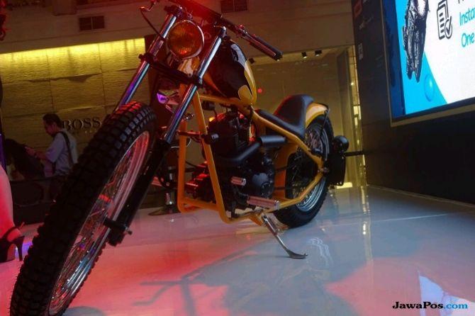 Lebih Dekat Dengan Motor Chopper Milik Ringgo