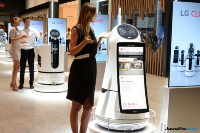 LG Jadikan Panggung IFA 2018 Ajang Pamer AI