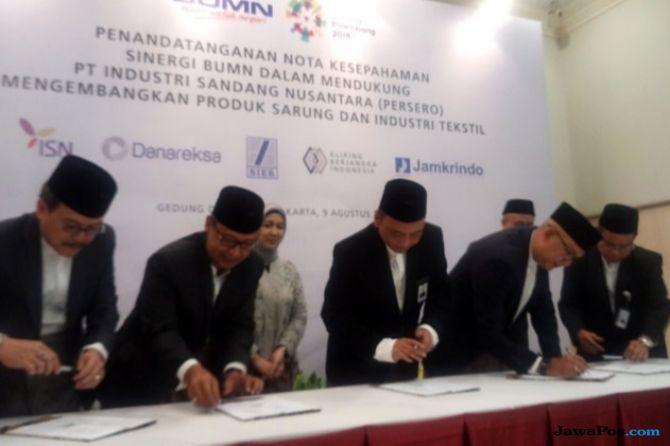Lima BUMN Bersinergi Kembangkan Bisnis Industri Sandang Nusantara
