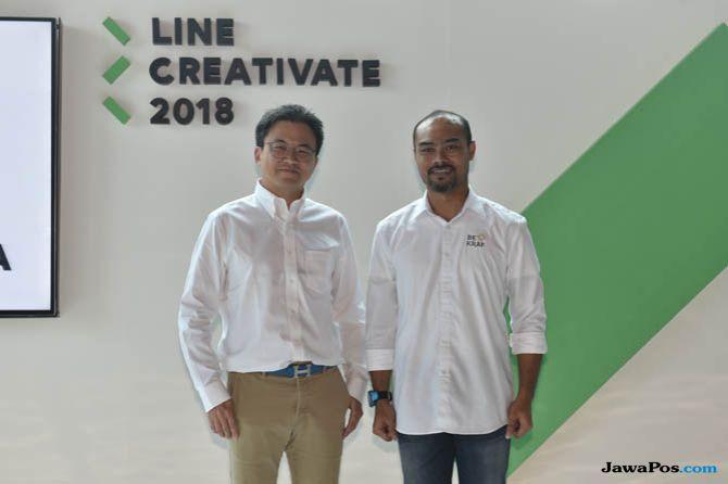 Line Creative 2018, Line Creative jadwal, Line Creative kompetisi