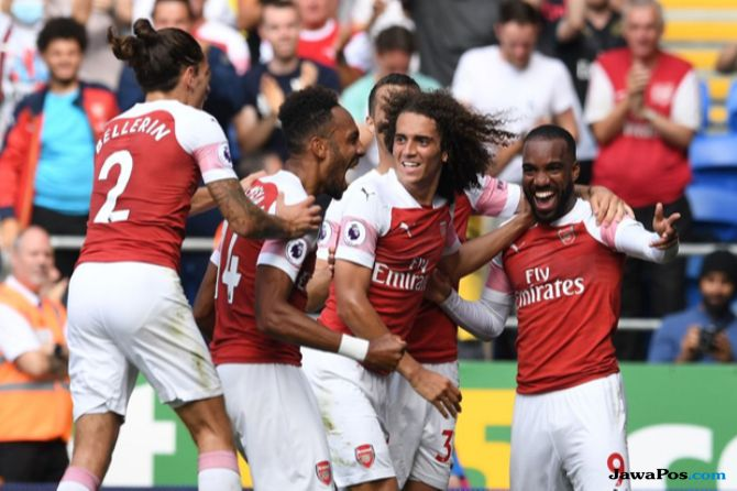 Liga Inggris, Premier league 2018-2019, Arsenal, Cardiff City