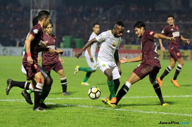 Persebaya Surabaya, Angel Alfredo Vera, Liga 1 2018, David da Silva, PSM Makassar
