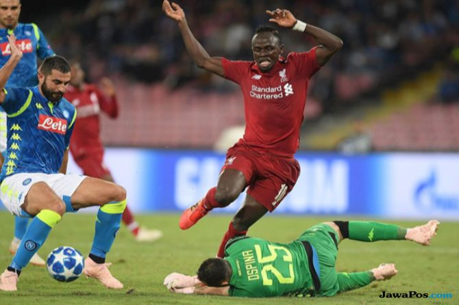 Liga Champions, Napoli, Liverpool, Napoli 1-0 Liverpool