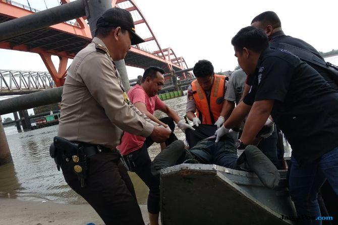 Loncat ke Sungai Musi, Pelaku Curanmor Ditemukan Tewas