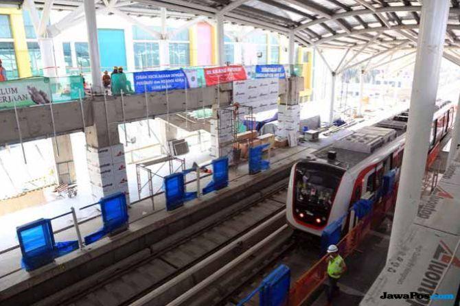 LRT Kelapa Gading Batal Digunakan Saat Asian Games 2018