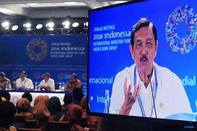 Luhut Beberkan Penghematan Selama Gelaran IMF-Bank Dunia