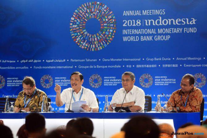 Luhut Klaim Pelaksanaan Pertemuan Tahunan IMF-WB 2018 Dipuji Dunia