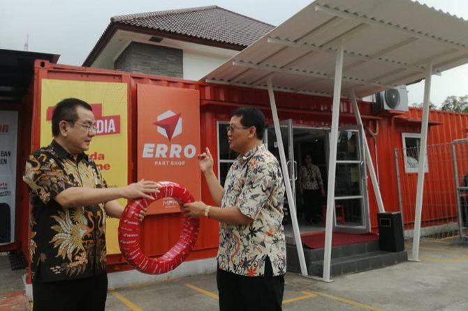 Luncurkan ERRO Part Shop, MPM Perkuat Penjualan Sparepart