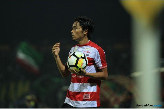Madura United, Bhayangkara FC, Liga 1 2018, Andik Rendika Rama, Bayu Gatra, Alfath Fathier