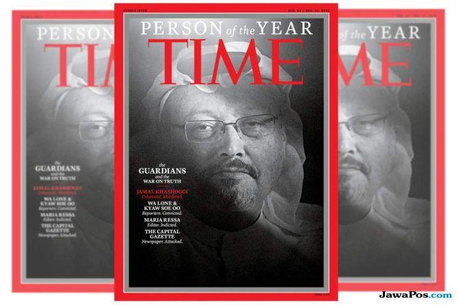 trump, majalah time, khashoggi,