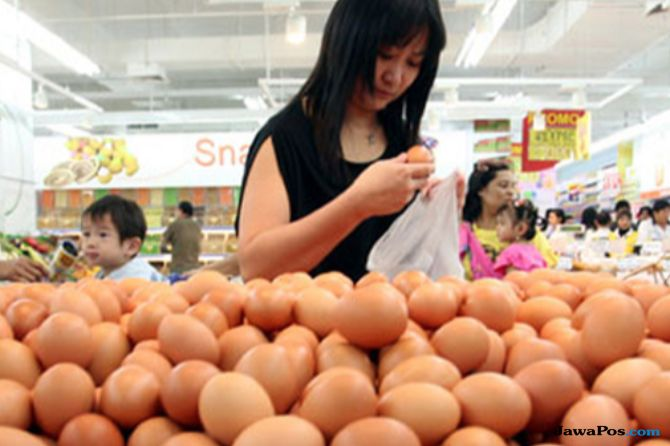 Makin Mahal, Harga Telur di Malang Terus Meroket