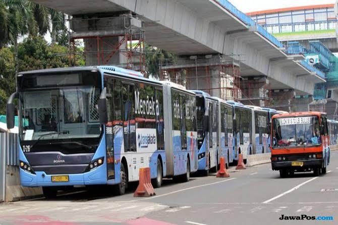 PLIN Malam Tahun Baru TJ Beroperasi 24 Jam, Ada 7 Layanan Bus Gratis