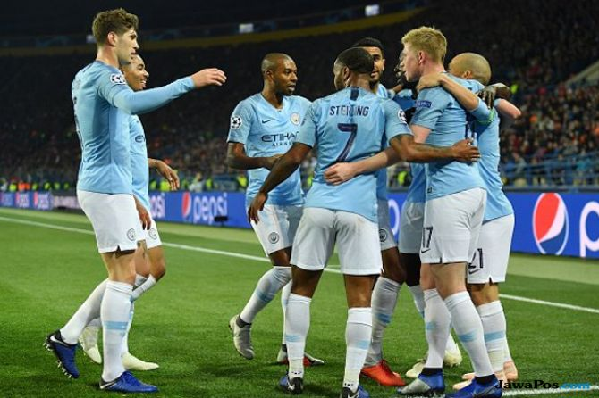 Liga Champions 2018-2019, Manchester City, Shakhtar Donetsk, Shakhtar Donetsk 0-3 Manchester City