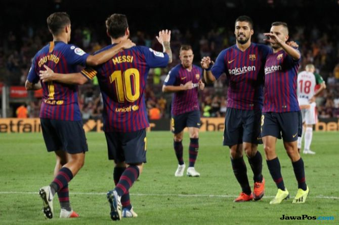 La Liga 2018-2019, Liga Spanyol, barcelona