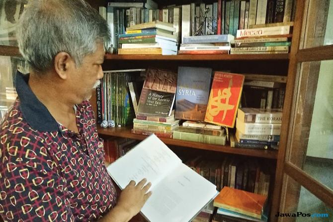 Mantan Penasihat KPK Suwarsono Muhammad Buka Perpustakaan Pribadi untuk Umum