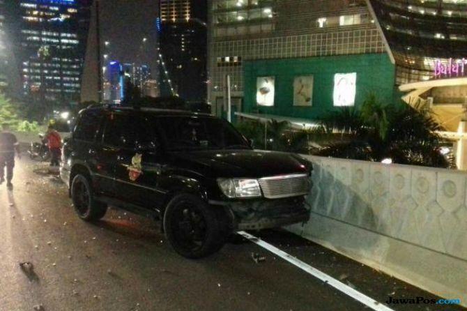 Marko Simic Kecelakaan di Simpang Susun Semanggi