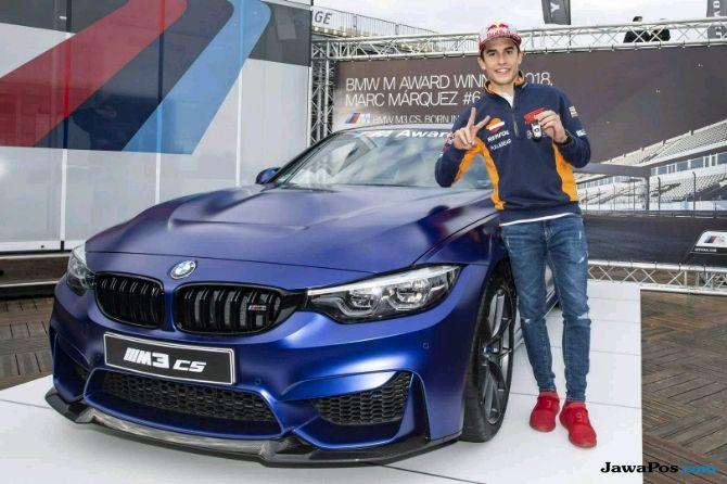 Marquez Sabet Hadiah 6 Mobil Mewah BMW